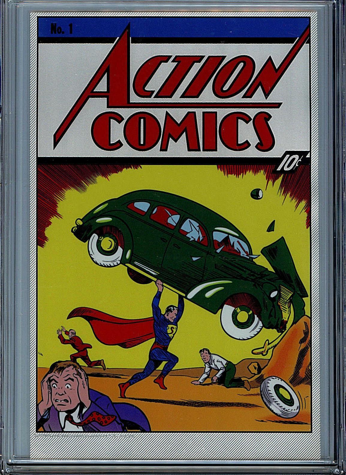A Comic Book's Record Price
